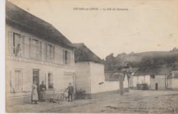 Fontaine Sur Somme  Le Café Du Commerce Um 1910 - France