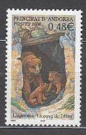 Año 2006 Nº 626 Leyenda De La Caverna Del Oso - Andorra Francesa