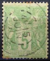 FRANCE              N° 102              OBLITERE - 1898-1900 Sage (Type III)