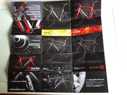 Dep058 Pinarello Design Bicicletta Bicycle Manufactures Road Track Cyclocross Models Moldelli Giro Italia 2018 - Pubblicitari