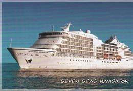 SEVEN SEAS NAVIGATOR>RADISSON SEVEN SEAS CRUISES - Steamers