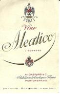 "4582 ""VINO ALEATICO LIQUOROSO-M. GASPARRI & C.-PORTOFERRAIO ""- ETICHETTA ORIGINALE - Vino Rosso"