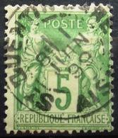 FRANCE              N° 106              OBLITERE - 1898-1900 Sage (Type III)
