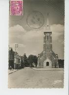 SAINT FRAIMBAULT SUR PISSE - L'Église Et La Place - Autres Communes