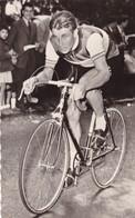 CYCLISME ,,,  TRES BELLE PHOTO DE  JACQUES  ANQUETIL  ,, PHOTO MIROIR  SPRINT,,TBE ,,,,,,,,rare - Cyclisme