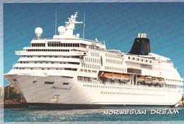 NORWEGIAN DREAM>NORWEGIAN CRUISE LINE - Steamers