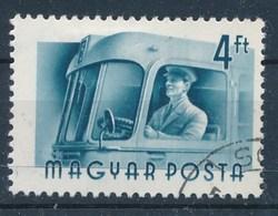 Ungarn 1955 Mi. 1443 Gest. Autobus Fahrer - Bussen