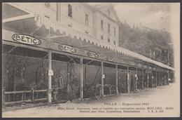 Rare Cpa 19 - TULLE - Exposition 1925 Halls Stands Décoration Loués & Installés Par L'entreprise Spéciale MOLINE, Dijon - Tulle