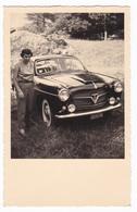 AUTOMOBILE  NON IDENTIFICATA  -  AUTO  - CAR  -  FOTO CARTOLINA ORIGINALE - Automobiles