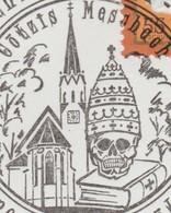 Autriche 2006. Saint Gebhard. Tête De Mort Sous Mitre Et Bible - Theologen