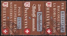 Schweiz  .  Yvert     .     375/377      .    O     .   Gebraucht  .   /   .  Oblitéré - Used Stamps