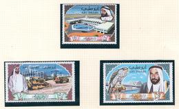 1968 - ABU DHABI. -  Mi. Nr.  49/51 - LH - (CW4755.39) - Abu Dhabi