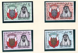 1968 - ABU DHABI. -  Mi. Nr.  45/48 - LH - (CW4755.39) - Abu Dhabi