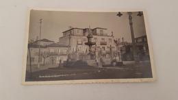 ANTIQUE PHOTO POSTCARD PORTUGAL CAMINHA - FONTE E CASA SENHORIAL USED NO STAMP 1955 - Viana Do Castelo