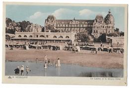 CPA 5 Houlgate  - Le Casino Et Le Grand Hôtel Bon état Voir Scan - Houlgate