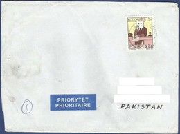 POLAND 2013 POSTAL USED AIRMAIL COVER TO PAKISTAN - Ohne Zuordnung