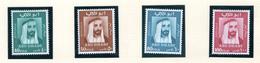 1967 - ABU DHABI. -  Mi. Nr.  38/41 - LH - (CW4755.39) - Abu Dhabi