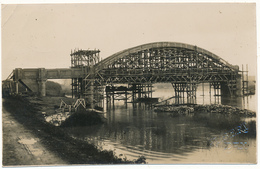 JOSSE - Carte Photo - Le Pont De La Marquèze En Construction - Other Municipalities