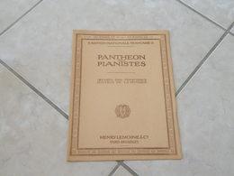 Panthéon Des Pianistes Ouverture Du Freyschutz, Piano (Musique Weber) - Partition - Autres Instruments