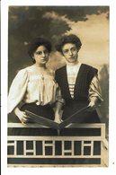 CPA - Carte Postale-Belgique- Photographie De Deux Jeunes Femmes- VM4399 - Photographie