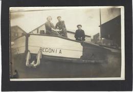 CPA Péniche Battellerie Marinier Non Circulé Carte Photo RPPC - Houseboats
