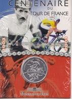 1/4 D'Euro, Centenaire Du Tour De France, Argent. - Francia