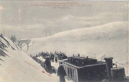 Strecke Cranzahl-Weipert - Schneezug       (190707) - Trains