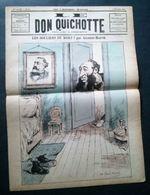 Le Don Quichotte, 9 Février 1883, Les Souliers Du Mort! Par Gilbert-Martin. - Journaux - Quotidiens