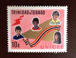 Trinidad & Tobago 1970 UNICEF MNH - Trinidad & Tobago (1962-...)