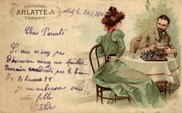 RARE CHICOREE ARLATTE CAMBRAI - Publicité