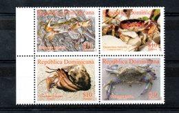 DOMINICANA, 2009,CRABS, 4v. MNH** - Crustaceans