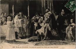 Besançon Musée La Mort De Léonard De Vinci Par Jean Gigoux Belle Carte Postée 29/10/1908 - Besancon