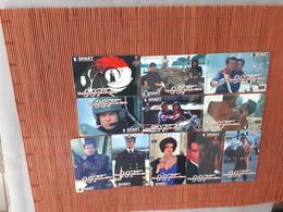 Set 11 Phonecards James Bond Tomorrow Never Dies (Mint,Neuve) Only 2000 EX And 3000 EX Very Rare - Belgien