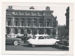OLD CAR,  Voiture ,CITROEN DS  AUTOMOBILE , Automobilia  - Vintage Old Photo Photograph - Cars