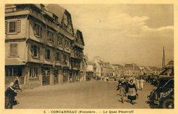 29  CONCARNEAU  LE QUAI PENEROFF - Concarneau
