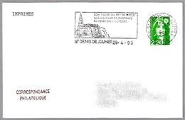 IGLESIA DEL SIGLO XII-XIII. ST.DENIS DE JOUHET 1993 - Iglesias Y Catedrales
