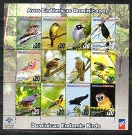 DOMINICANA, 2012,BIRDS,S/S. MNH** - Birds