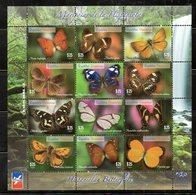DOMINICANA, 2014,BUTTERFLIES, S/S. MNH** - Butterflies