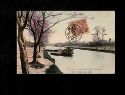 Cartolina Giappone Yokohama Cherry Blossom At Horiwar - Yokohama