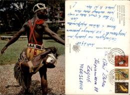 AFRICAN DANCER,UGANDA POSTCARD - Uganda