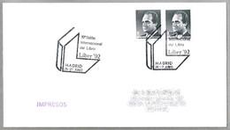 Matasellos SALON INTERNACIONAL DEL LIBRO - International Book Fair. Madrid 1992 - 1931-Hoy: 2ª República - ... Juan Carlos I