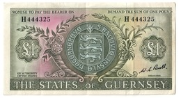Guernsey 1 Pound 1969 .J. - Guernsey