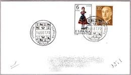 EXPOSICION FILATELICA - MELILLA 1972 - 1931-Hoy: 2ª República - ... Juan Carlos I