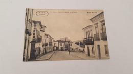 ANTIQUE PHOTO POSTCARD PORTUGAL MONTEMOR - O - NOVO - RUA NOVA USED NO STAMP 1919 - Evora