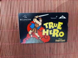 Disney Phonecard Hercules Used - Disney