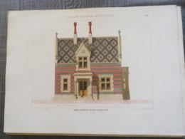 Bois De Boulogne 1875: Pvillon De La Porte De Neuilly - Architecture