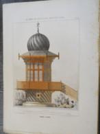 Bois De Boulogne 1875: Kioste National - Architecture