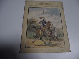 Protège Cahiers, Armée Française Depuis François 1 Er, Chevau-Léger - Collections, Lots & Series