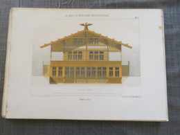 Bois De Boulogne 1875: Grand Chalet De L'ile - Architecture
