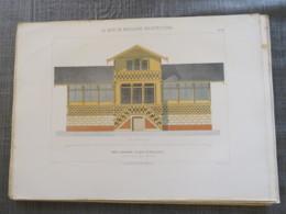 Bois De Boulogne 1875: Chalet De La Mare D'auteuil - Architecture